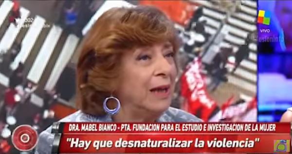 Mabel Bianco debate Sobre el Aborto en Intratables