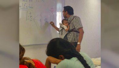 profesor-carga-bebe
