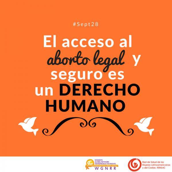 28 de septiembre: Día por la despenalización del aborto