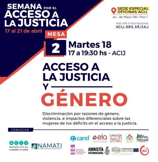 Acceso a la Justicia y Género