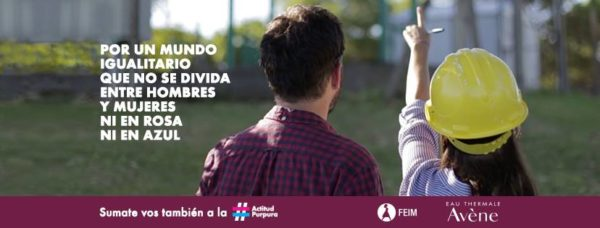 #ActitudPúrpura para la igualdad de género