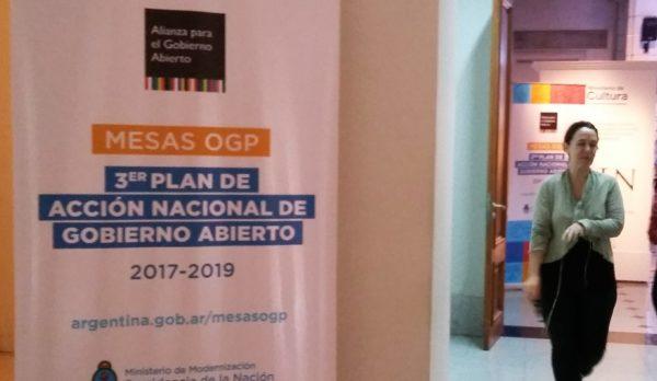 Mesas de diálogo de Gobierno Abierto