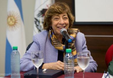 Reconocimiento a Mabel Bianco por su labor en defensa de los derechos de las mujeres