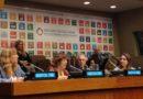 En la presentación del Informe Voluntario Nacional de Argentina ante el HKPF, Mabel Bianco expresó la perspectiva de la sociedad civil.