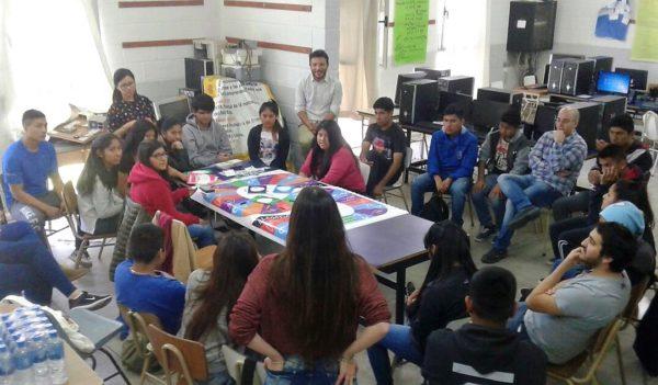 Talleres sobre sexualidad con jóvenes en Villa Soldati