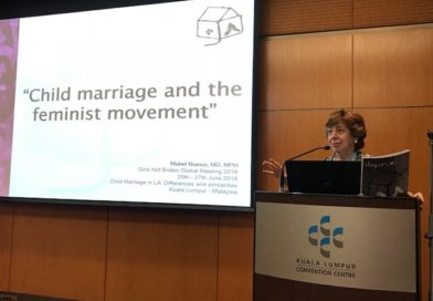 FEIM en el 2° Encuentro Global Girls Not Brides 2018, en Kuala Lumpur, Malasia