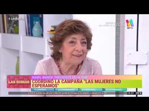 Mabel Bianco en Las Rubias NetTV