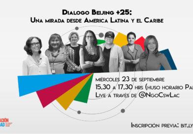 Diálogo Beijing+25: una mirada desde América Latina y el Caribe