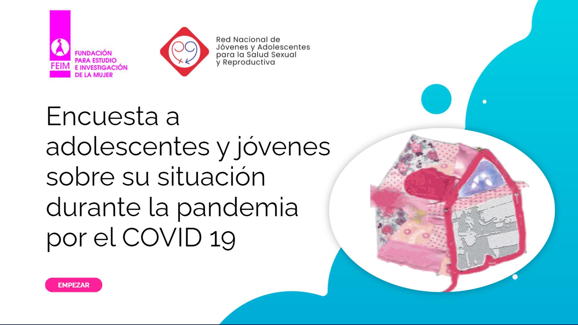 Salud sexual y reproductiva, convivencias y violencia en pandemia: una mirada adolescente
